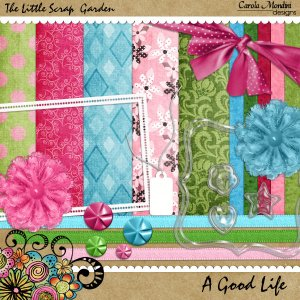 Little Scrap Garden Freebie!