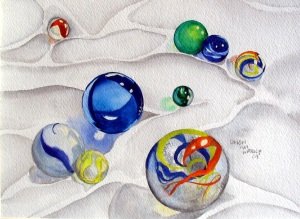 Marbles by Lindsay Weirich
