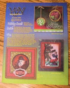 December 2008 issue of Vam Stamp News