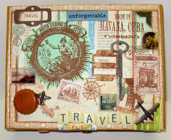 Travel Cigar Box by Lindsay Weirich (top view)