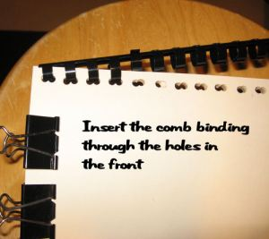 Insert the binding.