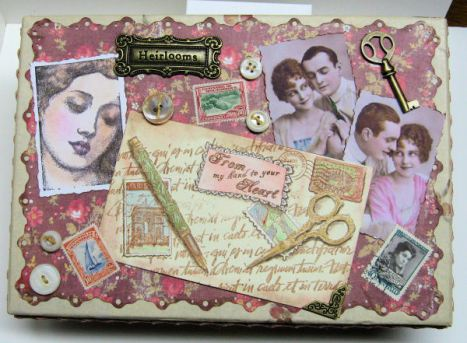 Altered Stationary box by Lindsay Weirich 2008