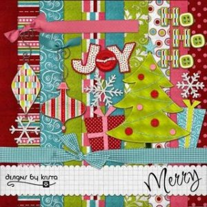 Merry kit from Designs by Krista