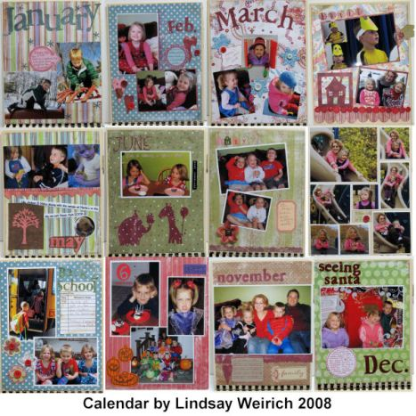 My 2009 calendar!
