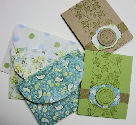 My Minds Eye, Cardstock (Certainly Celery, Kraft), Stamps (circle of Friendship, Cart Postal, Stampin Around Wheel), Ink (Old Olive) Stampin Up