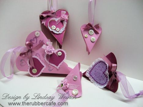 Heart Carton Treat Boxes