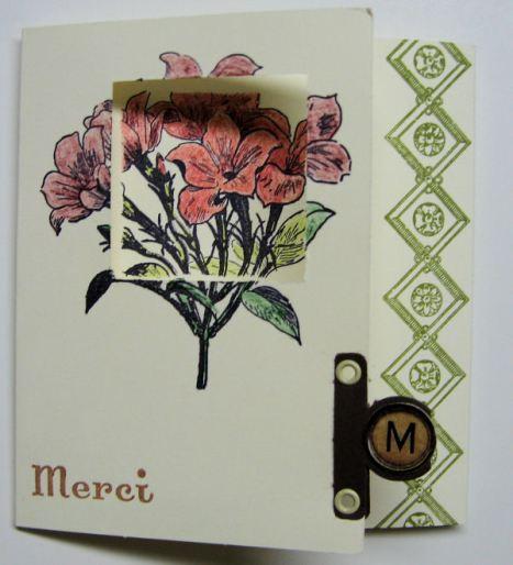 Tri-Fold Card by Lindsay Weirich