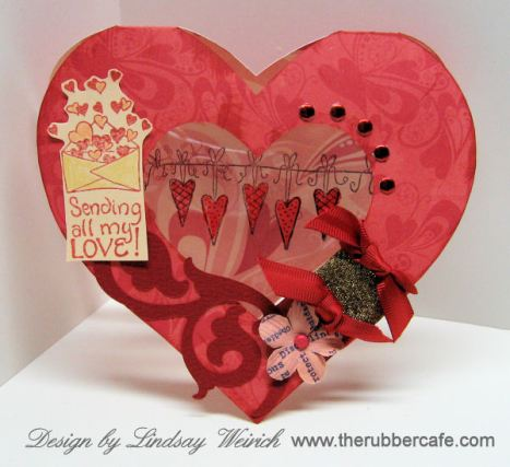 Another cute card to cut with your Cricut!