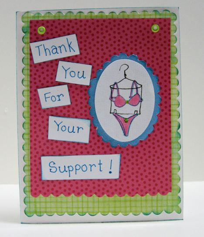 card by Lindsay Weirich 2008
