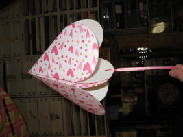 A hanging heart pocket, that was easy!