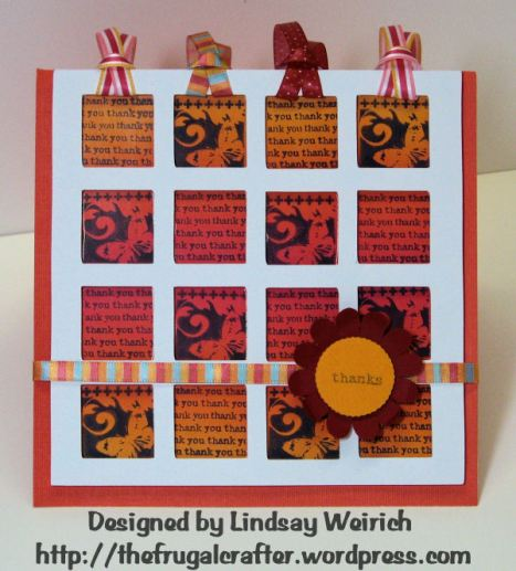 Stamps: Inkadinkado, Ribbon: Target, Cardstock: DCWV and Georgia Pacific