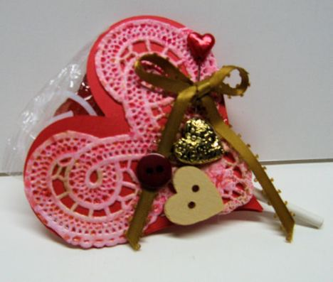 Vintage lillipop holder by Lindsay Weirich 2009