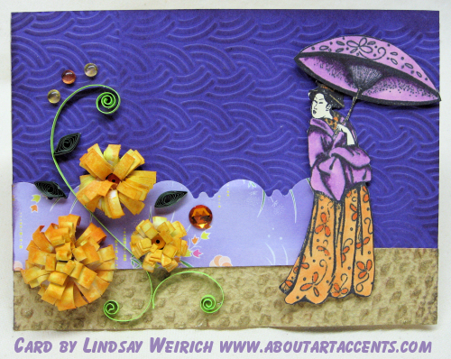 Stamp: About Art Accents, Texture plate Fiskars