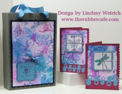 Stamps: The Rubber Cafe, Paper DCWV, Strathmore, Die Cuts: Cricut, Nestabilities