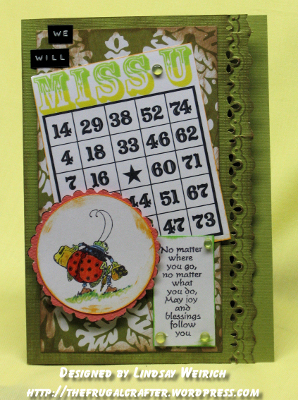 Stamps: Crafty Secrets, Inkadinkado Paper: American Crafts, Cardstock: DCWV