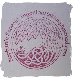 A Cutsom stamp by Onyx impressions, so pretty!