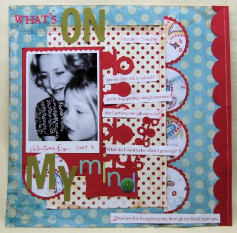 Layout by Lindsay Weirich, Paper: My Minds Eye, Die Cuts: Cricut, Font: Georgia