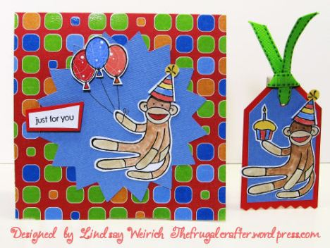 Wow! that card is bright! Paper: DCWV, Stamps: Stampin Up!