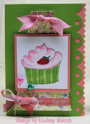 You can never have too many cupcakes right? Another digi stamp design I will put in my shop!