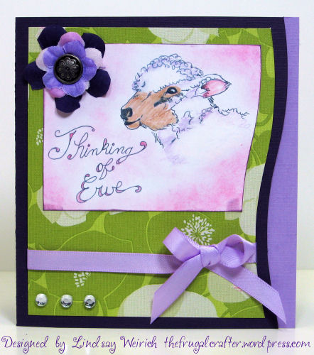 Stamp: Lindsay's Stamp Stuff, Cardstock: Doublemates, K&Co