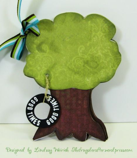 """chipboard"" tree minibook to cut with scal/cricut, download links below."