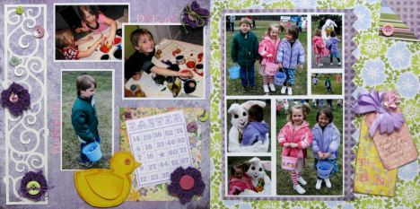 Paper: Basic Grey, Die Cuts, Bingo Cards, flowers: Lindsay Weirich, Software: SCAL