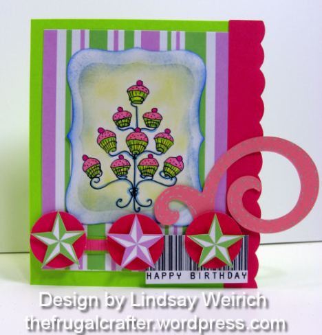 Stamps and card kit: Lindsay's Stamp Stuff, Die Cut: Creative Cuts and More