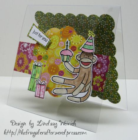 Stamps: Stampin Up!, Paper: K&Co., Die Cuts: Cricut