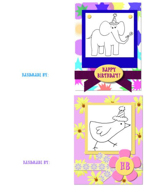Party Animal Card Kit Freebie: Lindsays Stamp Stuff