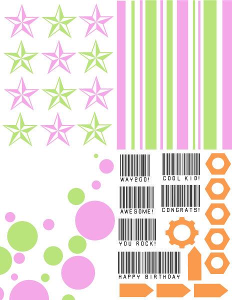 Cool Girl Card Kit