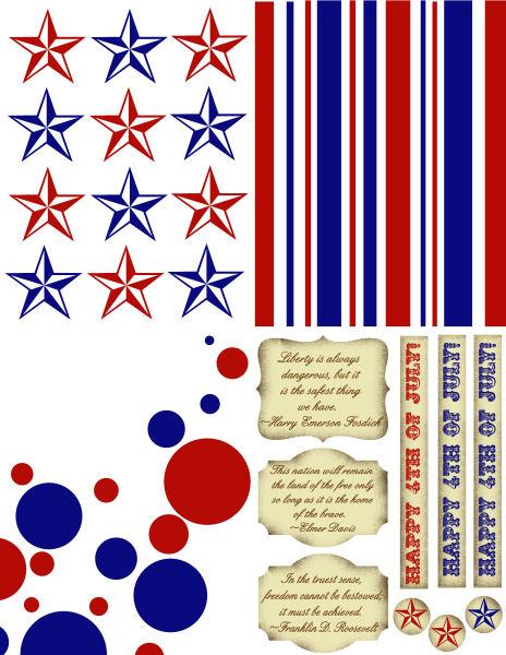 Card Kit: Patriotic (Lindsay's Stamp Stuff)