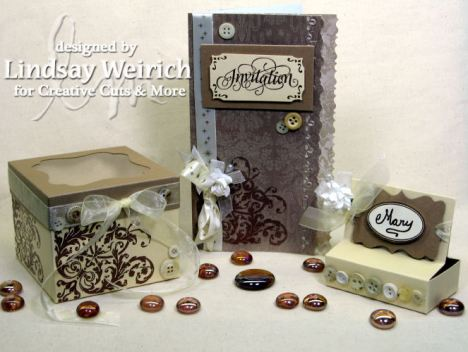 Die Cuts: Creative Cuts and More, Stamps: Magents, Rubber Stampese, PSX, PP: DCWV