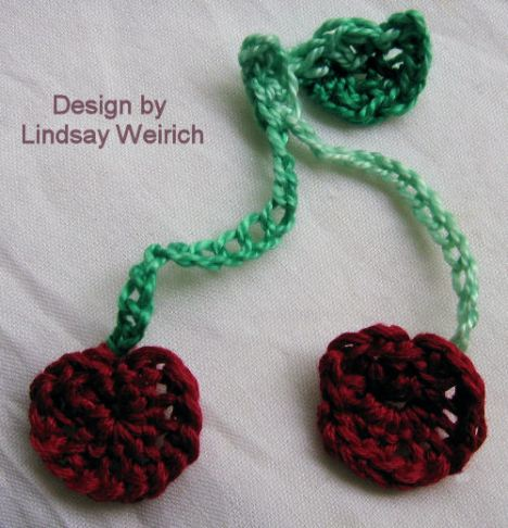 How To Crochet Cherries The Frugal Crafter Blog