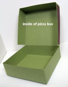 this is what the inside of the pizza box looks like, dowload links below