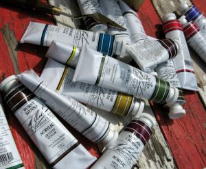 Mmmmmm paint! {yummy paint from M. Graham & Co.}