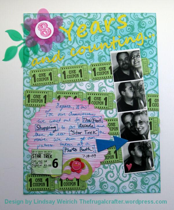 Paper: American Crafts, Stamp: Crafty Secrets