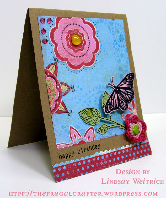 Stamps: Stampin Up!, Paper: MME, Cardstock: The Paper Co.
