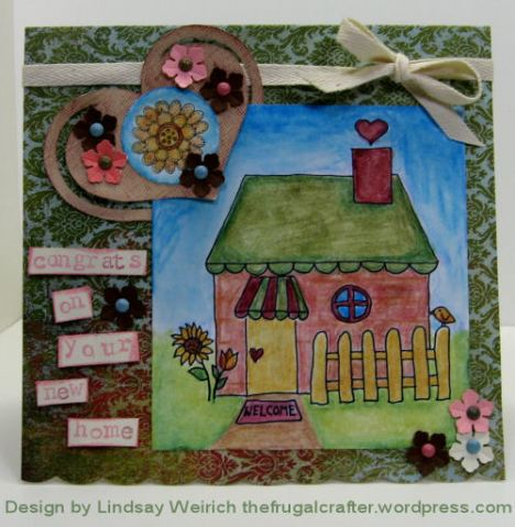 Digital Stamps: Lindsay's Stamp Stuff, Pattern Paper: Basic Grey, Rubber stamps (little letters) Studio G