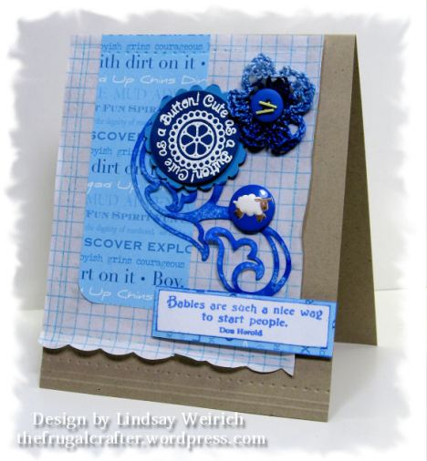 Stamps: Pink Persimmion, Inqie Botique, Cardstock, ink: SU!, Die Cut: Cricut Accent Essentails cart)