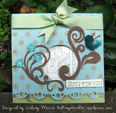 Stamps: About Art Accents, Paper K&Co, Other: SCAL + Cricut+ DB Dainty Swirl Font
