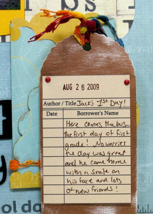 Libraty Card Digi-Stamp: Lindsay's Stamp Stuff