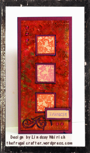 Stamps: About Art Accents, CVardstock: DCWV, Die Cut: Cricut (accent essentails), ink: Ranger