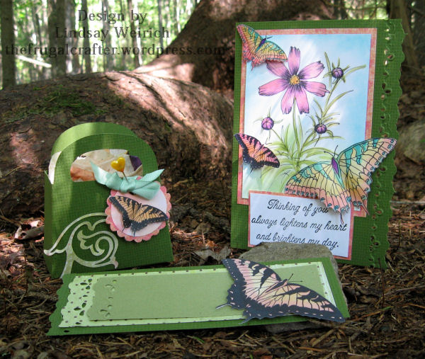 Digital Stamps: Lindsay's Stamp Stuff, Die cuts: Cricut, Sentiment: MSE!