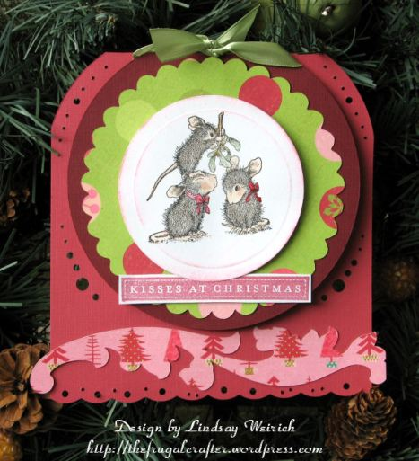 Stamps: House Mouse Clear, Anna Griffin (sentiment) Paper: K&Co., Doublemates