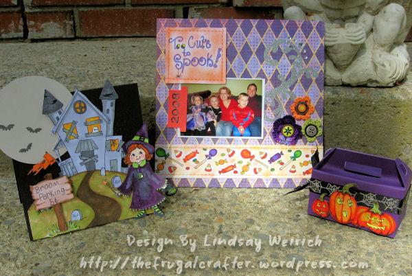 Stamps: Lindsay's Stamp Stuff, PP: Basic Grey, Cardstock Georgia Pacific, tools: Scor-Pal, Scor-Bog, Cricut, SCAL software (for die cut box)