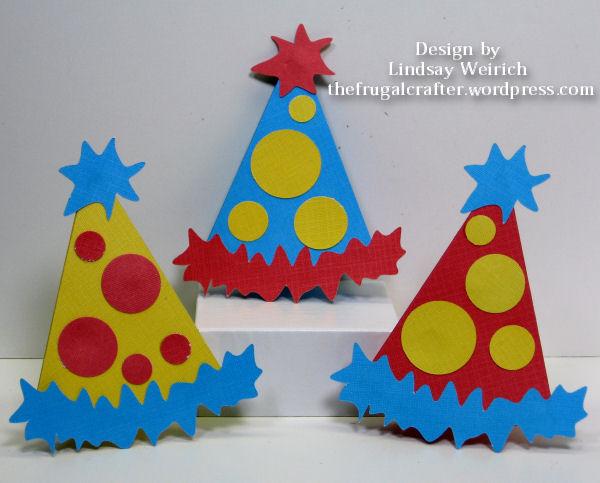 Template design by Lindsay Weirich (download below), Cardstock: DCWV