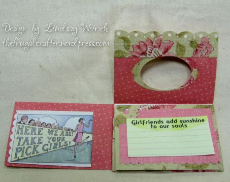 I love the funny collage clips in this pad from Crafty Secrets!
