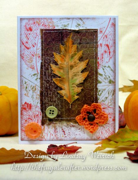 Quick and easy, that's my type of card! Stamps&paper: Lindsay's Stamp Stuff