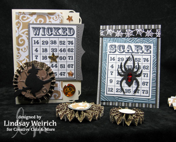 Die Cuts: Creative Cuts and More, Stamps: Lindsay's Stamp Stuff, Paper: American Crafts, DCWV