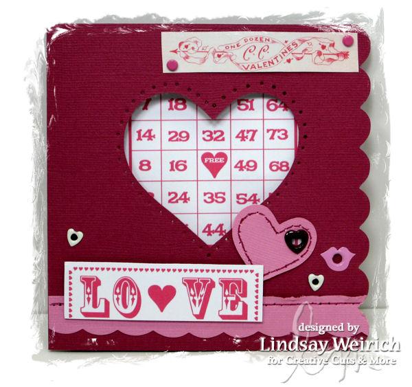 Die cuts: CC&M, Bingo Card Digital Stamp: Lindsay's Stamp Stuff